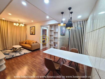 Two bedrooms apartment with simple furniture in Masteri Thao Dien for rent