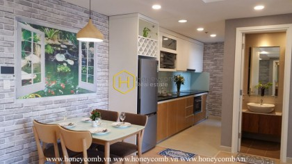 Masteri 2 beds apartment river view for rent