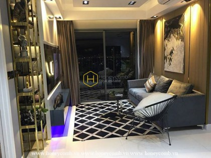 Great! Luxury furnished 2 beds apartment in Masteri Thao Dien for rent