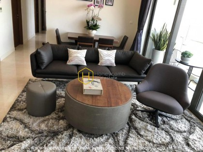 A conveniently-located apartment in Nassim with a perfect design
