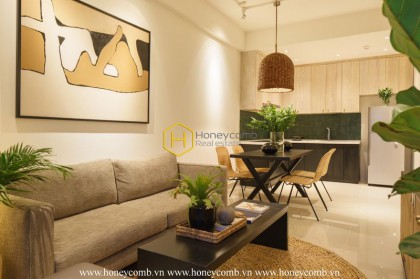 A The Sun Avenue apartment for rent with sweet contrast