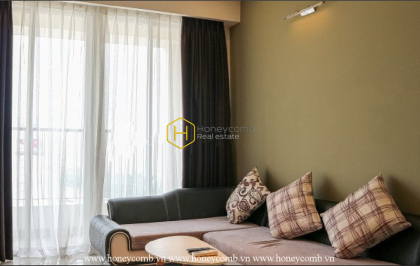 Delicate and warm - an apartment Thao Dien Pearl with gentle colors