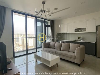 This unique Vinhomes Golden River apartment brings the architecture of a new millennium