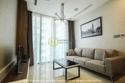 Classy style combined with brilliant layout in this Vinhomes Golden River apartment