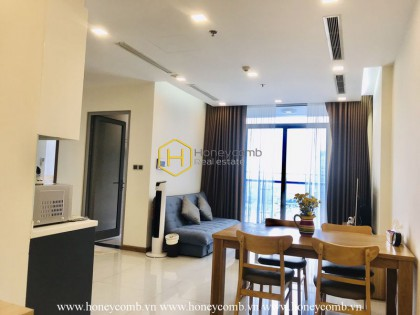 An attractive apartment in Vinhomes Central Park with modern European and American style