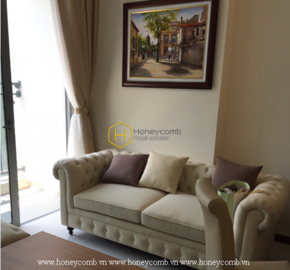 This top apartment in Vinhomes Central Park exudes powerful luxury