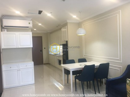 Explore this delicate apartment in Vinhomes Central Park for rent