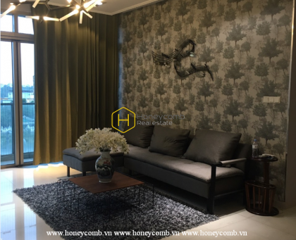 Fall for the stunning and trendy apartment in The Vista