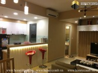 Spacious 2 bedrooms apartment with nice decor in Masteri Thao Dien