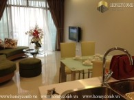 One bedrooms apartment with beautiful view and mordern design in City Garden for rent.