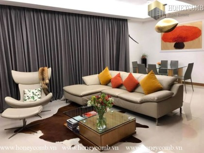 Wonderful three bedrooms apartment in high floor in Xi Riveview for rent