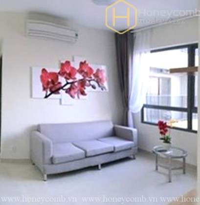 2-beds apartment with high floor and open kitchen in Masteri Thao Dien