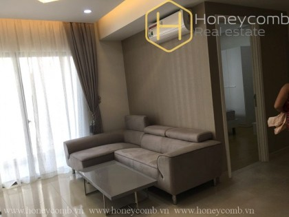 1 bedroom apartment with balcony and nice view in Masteri Thao Dien