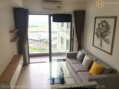 2 beds apartment with brand new in Masteri Thao Dien