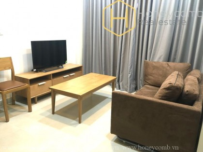 2 bedrooms apartment with middle floor in Masteri Thao Dien