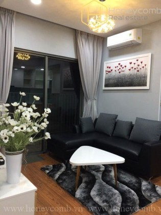 2 bedrooms apartment with high floor for rent in Masteri