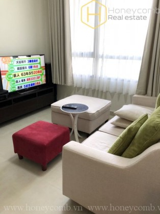2 beds apartment with park view in Masteri Thao Dien for rent