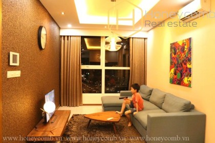 Fully furnished 2 beds apartment in Thao Dien Pearl