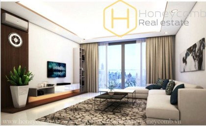 Morden style 3 beds apartment in The Estella Heights for rent