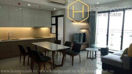 The Estella Heights 2 beds apartment with nice view for rent