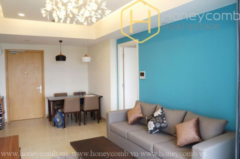 2 beds apartment in Masteri Thao Dien for rent with river view