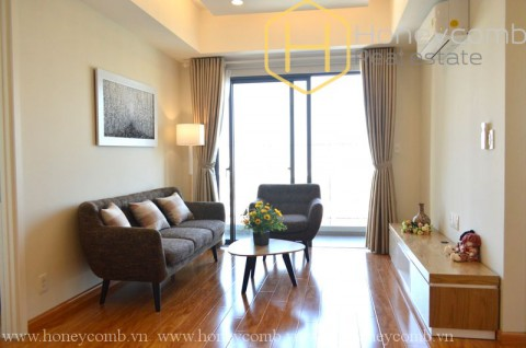 Wonderful 2 bedrooms apartment in Masteri Thao Dien for rent