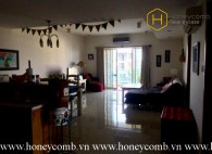 Fully furnished with 3 bedrooms apartment in River Garden for rent