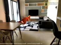Decor for two bedrooms apartment for rent in Masteri
