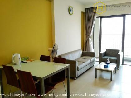 Good price 2-bedrooms apartment with river view in Masteri for rent
