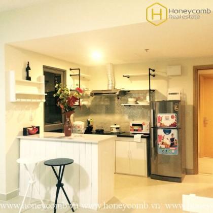 Modern furnitures warm space for rent 2 bedrooms in Masteri Thao Dien