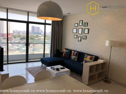 Delicate 1 bedroom apartment with nice view in City Garden for rent