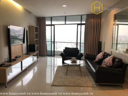 Two bedrooms apartment with luxury design in City Garden