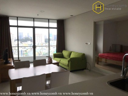 1 bedroom apartment with simple furnished in City Garden