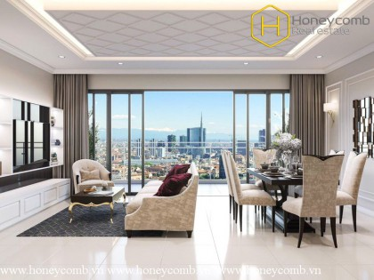 Beautiful and luxurious 3 bedroom apartment in The Estella Heights