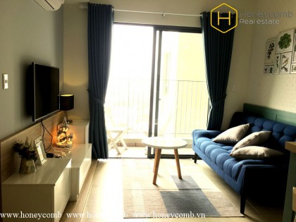 Masteri apartment on high floor for rent with 2 bedrooms