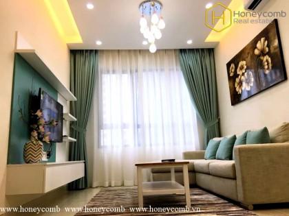 Wonderful 1 bedroom apartment with hight floor in Masteri Thao Dien