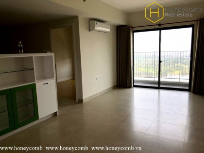 Unfurnished 2 bedroom apartment in Masteri Thao Dien