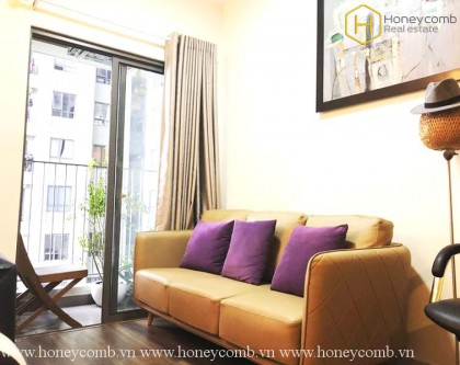 High floor apartment with nice view in Masteri Thao Dien for rent