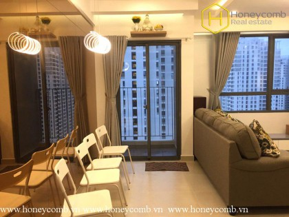 Comfortable apartment for rent in Masteri Thao Dien 2 bedroom