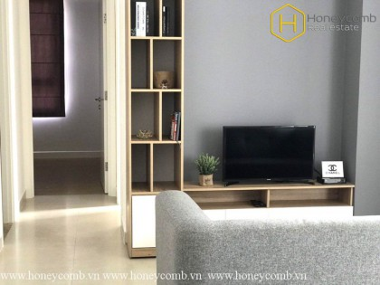 Pretty! 2 bedrooms apartment in Masteri Thao Dien for rent