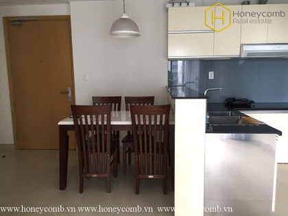 Simple design with 2 bedrooms apartment in Masteri Thao Dien for rent
