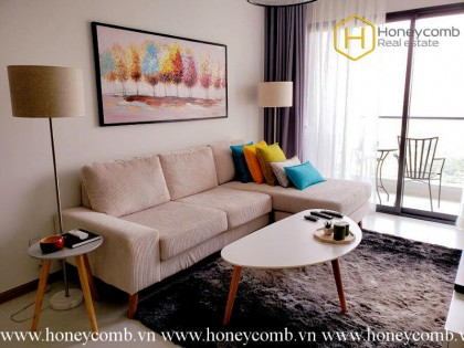 Spacious Modern Living with 3 bedrooms apartment in New City Thu thiem