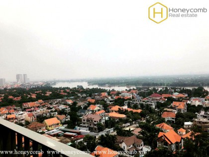 2 bedroom apartment in Masteri Thao Dien with river view