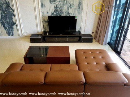 Fully furnished space 3 bedrooms apartment in The Estella Heights