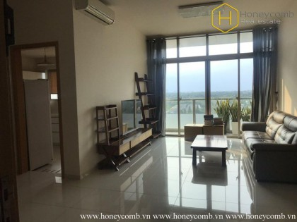 Fully furnished 2-bedroom apartment in The Vista for rent