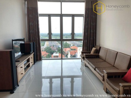 Simple 3 beds apartment in The Vista An Phu for rent