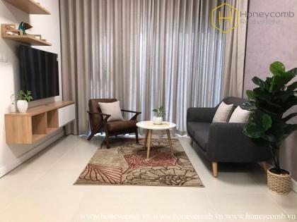 Classy high-storey 1 bedrooms apartment in The GatewayThao Dien