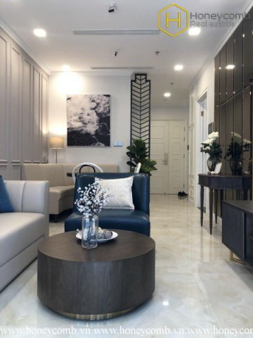 Elegant and luxurious 1 bedroom apartment in Vinhomes Golden River