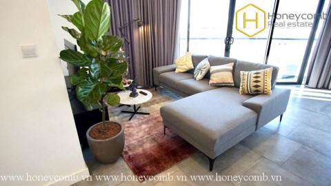 Wonderful 2 beds apartment with nice view in City Garden
