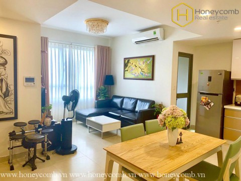 Contemporary fully furnished 2 beds apartment in Masteri Thao Dien for rent
